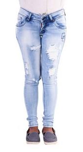 Celana Panjang Denim Wanita Geearsy GR 4264