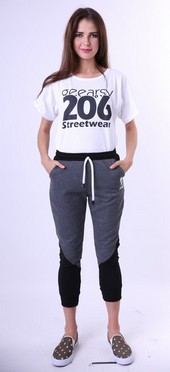 Celana Panjang Fleece Wanita Geearsy GR 4260