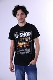 Kaos T Shirt Combed Pria GS 0457