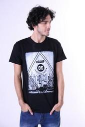 Kaos T Shirt Combed Pria GS 0450