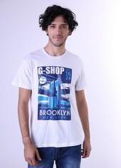 Kaos T Shirt Combed Pria GS 0451