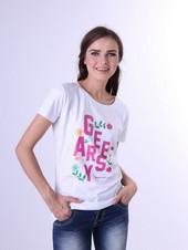 Kaos T Shirt Combed Wanita Geearsy GR 0456