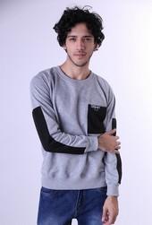 Sweater Fleece Pria GS 1277