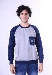 Sweater Fleece Pria GS 1259