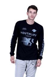 Kaos T Shirt Pria Hurricane H 0106