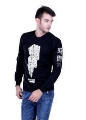 Kaos T Shirt Pria Hurricane H 0007