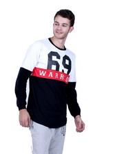 Kaos T Shirt Pria Hurricane H 0103