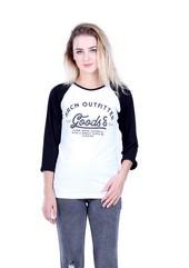 Kaos T Shirt Wanita Hurricane H 0199