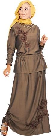 baju gamis model sekarang ALY 306