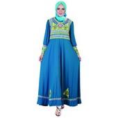 baju gamis murah HNS 216
