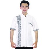 baju koko batik MRJ 211
