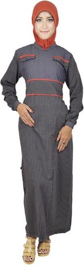 baju muslim gamis terbaru ALY 308