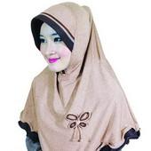 jilbab grosir online HDN 866