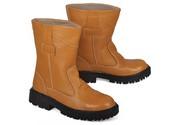 Sepatu Safety Kulit Pria BJB 028