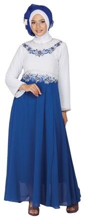 Jual model terbaru baju syari putih beli harga murah di Baju gamis putih murah